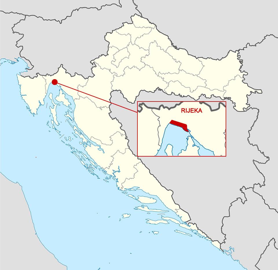 Karta Grad Rijeka